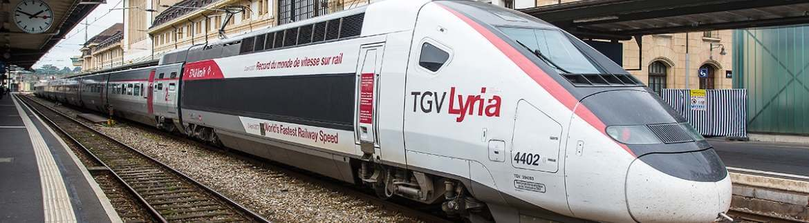 TGV - by train across Europe
