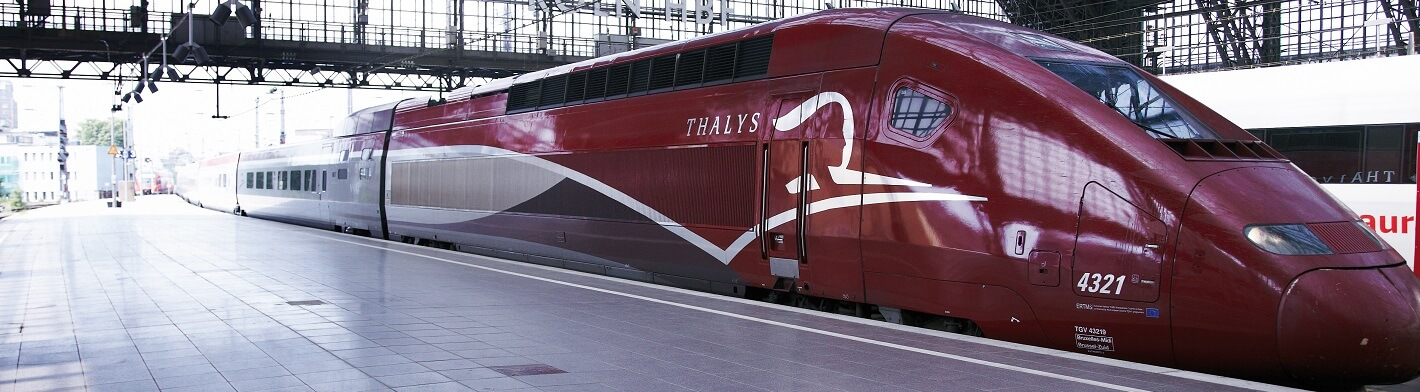 Thalys: Paris - Amsterdam - Brussels - Cologne